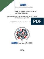 Format Laporan Pemilu Yugoslavia