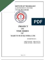 26762598 Trend Analysis in Maruti Suzki