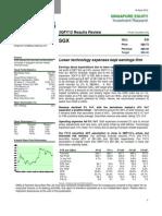 Singapore Stock Exchange 18 April 2012