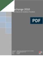 Exchange 2010 Documentation