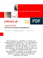 Leap Forward - Oracle IDM for Oracle Apps - Dec 11 2008 vFinal