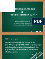 Tugas3 Jarkom Protokol Jaringan OSI  & Protokol Jaringan TCP/IP