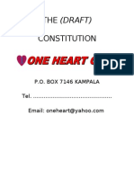 The Constitution One Heart