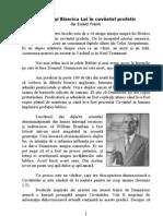 Hristos Si Biserica Lui in Cuvantul Profetic - de Ewald Frank