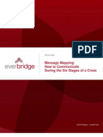 Ever Bridge White Paper - Communication During Six Stages of a Crisis