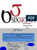 Presentation on 6SigmA