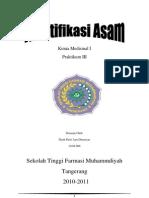 Kimia Medisinal asam