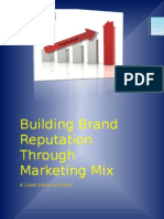 Building Brand Reputation Through Marketing mix - A case study on Otobi