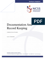 Record Keeping and Documentation