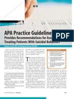 A Pa Suicide Guidelines Review Article
