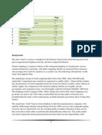 MIS - Report on Cloud Computing