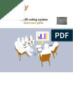 FB150-V Voting System User Guide - Last Version