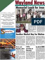 The Wayland News May 2012
