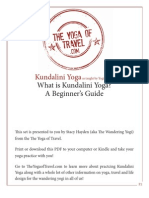 What is Kundalini Yoga for Beginners