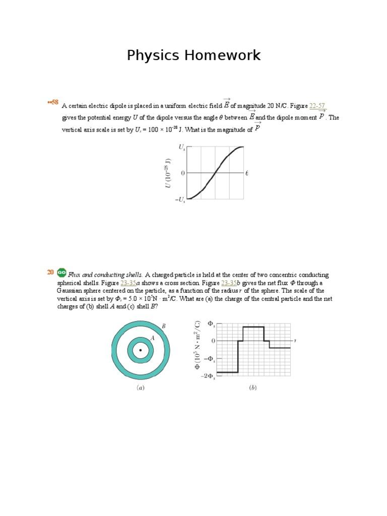 Physics Homework | Sphere (256 views)