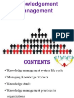 Knowledgement Management PPT @ BEC DOMS MBA