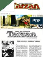Tarzan a Fumetti La Culla Degli Dei
