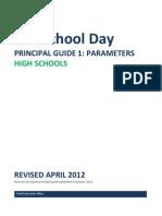 Full School Day PRINCIPAL GUIDE 1