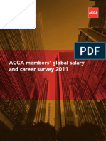 ACCA Members Salary and Career Survey 2011
