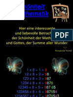 Schönheit der Mathematik