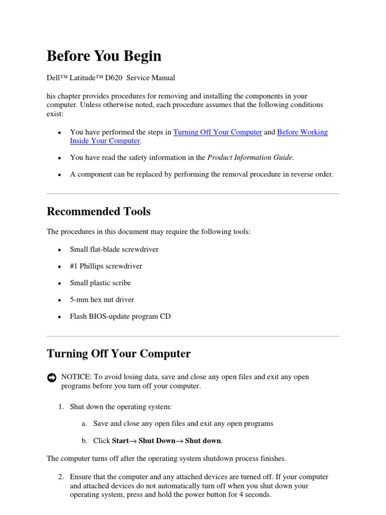 dell latitude d620 service manual electrical connector bios rh scribd com lg d620 service manual dell d620 service manual pdf