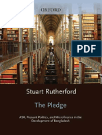 Stuart Rutherford-The Pledge ASA, Peasant Politics, And Micro Finance in the Development of Bangladesh(2009)