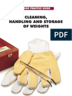 Handling and Cleaning of Weights