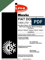 Manuale 031 Fiat Doblo' 1.9 Jtd