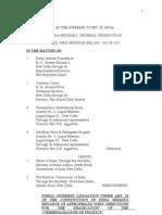 PIL - ion of Politics - 536 of 2011