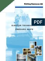 Ejector Onboard Ships