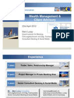 Wealth Management 20120423 1 ZHAW Marclussy