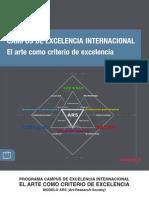 CEI. El Arte Como Criterio de Excel en CIA 2011