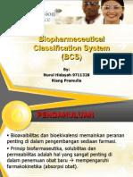 Biopharmeceutical Classification System