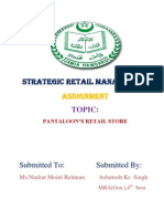 Retail Management Assignment Ashutosh