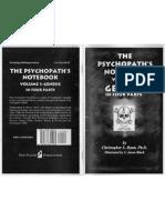 Hyatt, Christopher - The Psychopath's Notebook