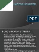 Tugas Motor Starter