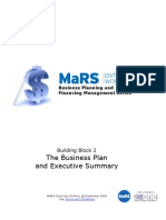 The Business Plan Executive Summary Workbook