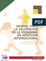 Manual Valoracion Idoneidad Adopcion