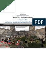 Zaloguj się do e-uniwersytetu! (Second Life)