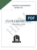 Human Resource Management Report