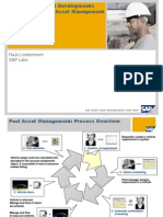 SAP EAM-PM - Pool Asset Management - Process Overview