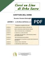 Corsi29-Lez La Scrittura Dell'Anima