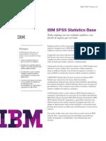 IBM SPSS Statistics Base - Especificacoes 20