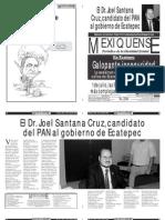 Versión impresa del periódico El mexiquense 23 abril 2011