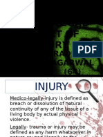 Medico Legal Aspect of Injury