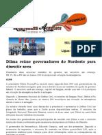 Dilma reúne governadores do Nordeste para discutir seca