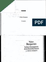 Benjamin, Walter - El Narrador