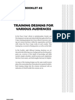 Peace Corps Training Designs for Personnel