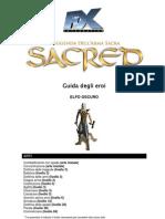 Sacred 1 - Guida degli eroi - Elfo Oscuro