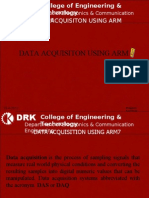 Data Acquisition Using ARM7